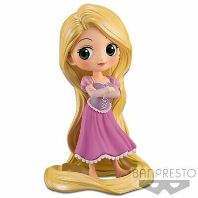 Banpresto Disney Characters Q Posket Rapunzel Girlish Charm Pastel Color Figure