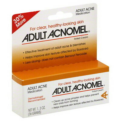 Acnomel Adult Acne Medication Cream -1 Oz Each (Pack Of 2 Tubes)