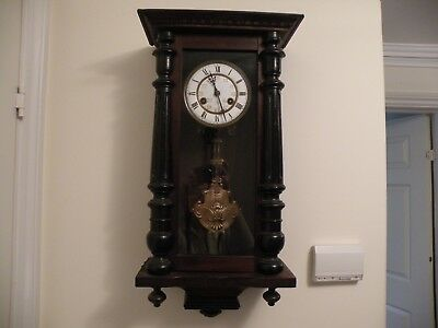 Antique 'junghans' Vienna Wall Clock