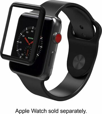 ZAGG - InvisibleShield® Glass Curve Elite for Apple Watch Series 3 38mm