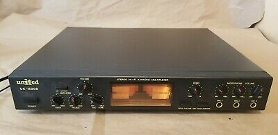 United Uk-8000 Stereo Hi-fi Karaoke Multiplexer, In Excellent condition TESTED