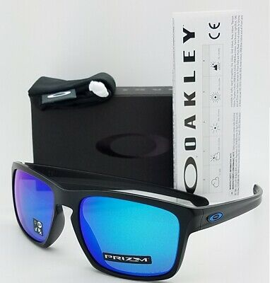 NEW Oakley Sliver sunglasses Black Prizm Sapphire AUTHENTIC 9269-15 9269 Asian