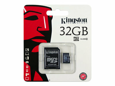Kingston - tarjeta de memoria flash SDC4/32GB  *canon incluido .con Factura