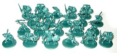 Orks and Goblins set of 21 Tehnolog 28 mm plastic soldiers Castlecraft 9th Age W