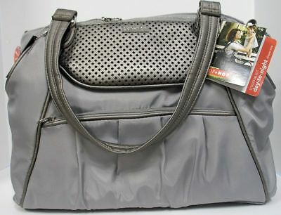 8e62d2863b5d SKIP HOP STUDIO Select Day-To-Night Baby DiaperTote Bag Pewter NWT ...