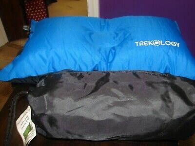 Trekology ALUFT Compact Inflating Travel Camping Backpacking Air Pillow
