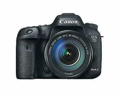 Canon EOS 7D Mark II Digital SLR Camera with EF-S 18-135mm is USM Lens + Wifi