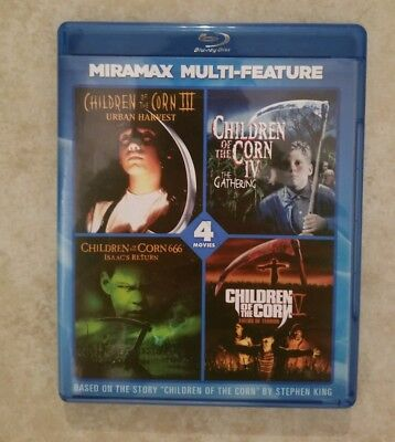 Children of the Corn collection III-666 (Blu-ray) IV V film series