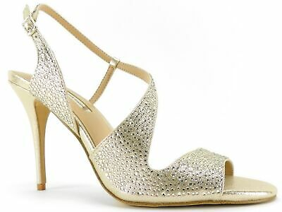 bfd334bea05 INC International Concepts Women s Renita Evening Sandals Pearl Gold Size  ...