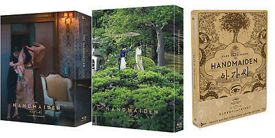 The Handmaiden - Blu-ray Steelbook / Full Slip, Quarter 1/4 Slip (Korean, 2018)