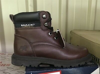 Mack Boots - Kid's Trucka style-J59101 Size UK4 RRP$129