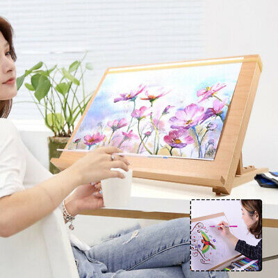 A2 Wooden Wood Art Drawing Board Table Desk Canvas Workstation Sketch Easel