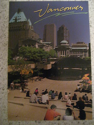 Collectable Vintage Vancouver Canada Postcard - Robson Square - Unused