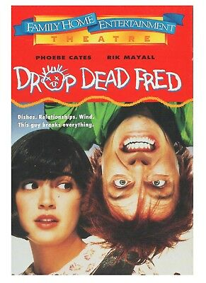 Drop Dead Fred VHS Widescreen Phoebe Cates, Rik Mayall