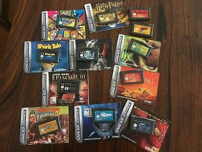 Nintendo Gameboy Advance Games