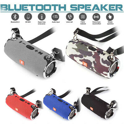 40W Portable Wireless Bluetooth V4.2 Stereo Speaker Waterproof For Phone MP3/4