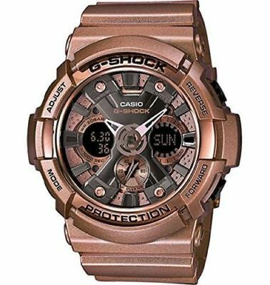 Casio Men's G-Shock Dial Rose Gold Tone Resin Quartz Watch GA200GD-9B NEW