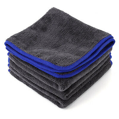 4 X Microfibre Cloths Towels Car Vehicle Cleaning Polishing Duster Kitchen Wash