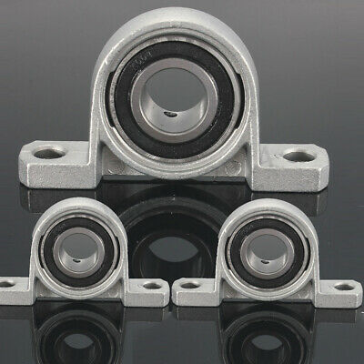 8/10/15/17/20/25/30/35mm Bore Diameter Mounted Bearing Ball Bearing Pillow Block