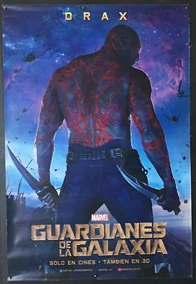 Dave Bautista Drax  Guardians of the Galaxy 2014 vinyl banner poster