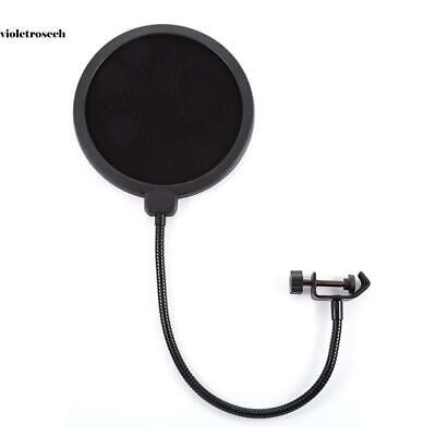 Professional Anti-spray Cover Large double-layer Microphone Recording VILR