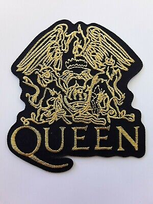 Queen We Will Rock You British Rock Music Band Embroidered Patch Uk Seller