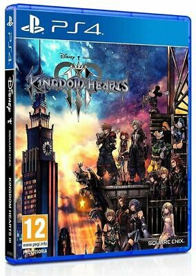 Kingdom Hearts 3 Italiano Ps4 Play Station 4 Nuovo Sigillato Sony Multilingua Eu
