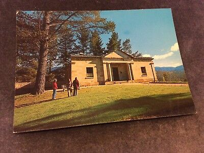 Vintage Postcard - Hartley Historic Site - Court House - Unused
