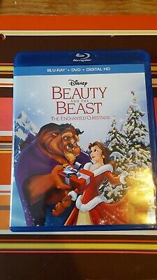 Disney Beauty and the Beast The Enchanted Christmas Blu-ray/DVD (No Digital)