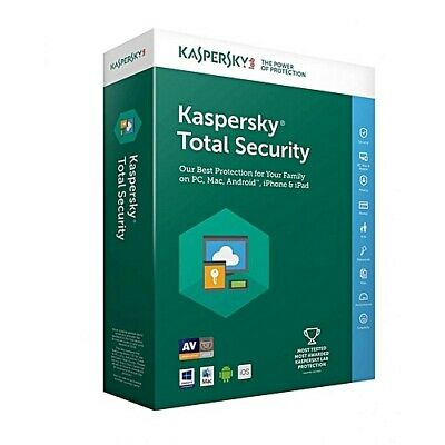KASPERSKY Total Security 2019 - 1/3/5/10 PC / Geräte - 1-2 Jahre / per E-Mail