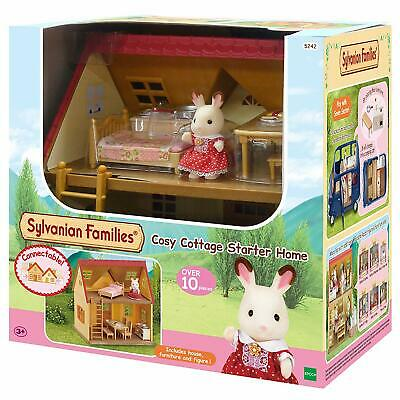 Sylvanian Families Cosy Cottage Starter Home Furniture Figure House Kids Playset