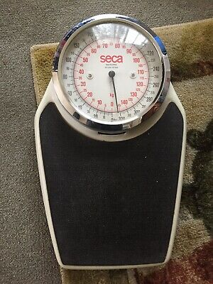 Vintage Seca Made In Germany 320 pound LB large dial analog bathroom floor scale