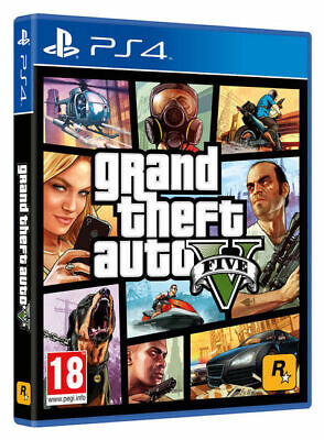Gta 5 Grand Theft Auto V Play Station 4 Ps4 Nuovo Sigillato Italiano