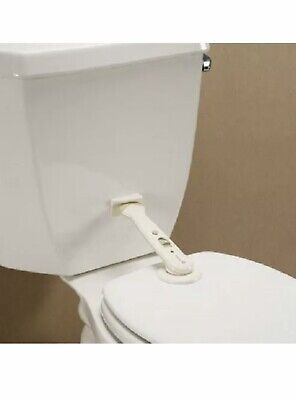 Safety 1st Swing Shut Toilet Lock, White