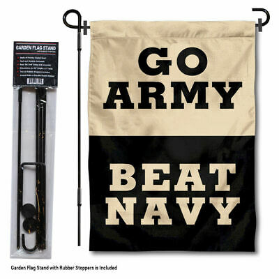 Army Black Knights Beat Navy Garden Flag and Yard Stand Included