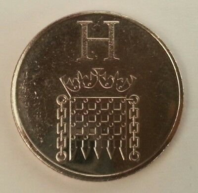 NEW A-Z 2018 ALPHABET 10p COIN HUNT-LETTER H  HOUSES OF PARLIAMENT UNCIRCULATED