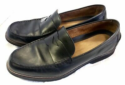 41755ecbaca Rockport Mens Classic Move Penny Loafer Black Leather Size 14 W Preowned