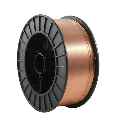 """ER70S-6 - Copper Coated - MIG General Use Welding Wire - 44 Lb x 0.035"""""""