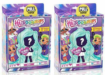 New Hairdorables Dolls Bundle (2 Pack) Collectible Series 1 Surprise Doll