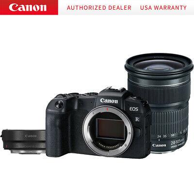 Canon EOS RP Mirrorless Camera with EF 24-105mm Lens and EF-EOS R Adapter Kit 33