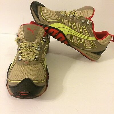 Puma Fells Trail Womens Brown Multi Color Hiking Trail Running Shoes Size  US 8 4c1569036