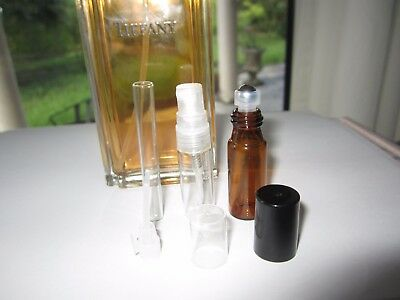 Tiffany & Co. DISCONTINUED PARFUM EDP Perfume Travel Vial Pick Size 1.5 3 or 5ML