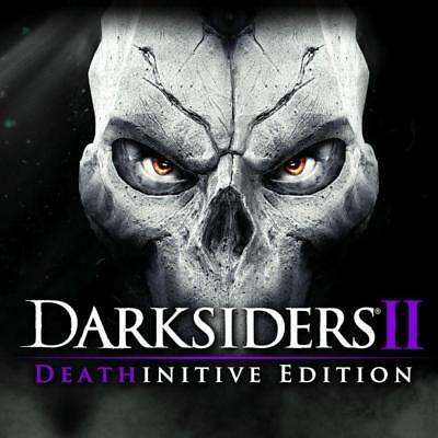 Darksiders 2 Deathinitive Edition PC Steam Code Key NEW Download Fast Region Fre