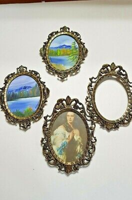 Ornate Picture Frames ( lot of 4)