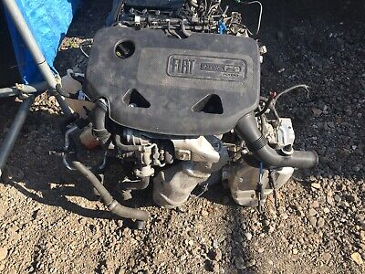 FIAT 500 TWIN Air 0 9l 2013 Complete Engine And Automatic Gearbox