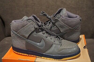 finest selection c6a6d 82e1c Nike Dunk High Premium Mita Ostrich Sz 12 Supreme
