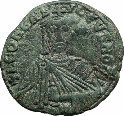 LEO VI, the Wise BYZANTINE  886AD Authentic Genuine Large Ancient Coin i76139