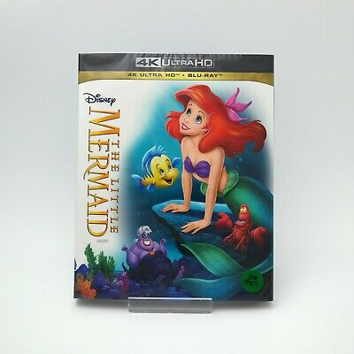 The Little Mermaid - 4K UHD & Blu-ray Slip Case Edition (2019)