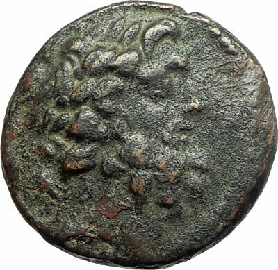 ANTIOCH SELEUKIS AND PIERIA 150BC Rare Ancient Greek Coin Zeus Nike  i76140