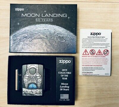 Zippo Lighter Moon Landing 50th Anniversary 2019 COLLECTIBLE Limited Edition New